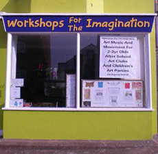 Workshops shopfront